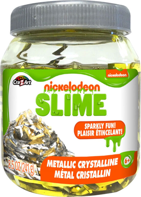 National Geographic - Nickelodeon Crystalline Premade Slime