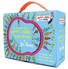 The Little Blue Box of Bright and Early Board Books by Dr. Seuss - Édition anglaise
