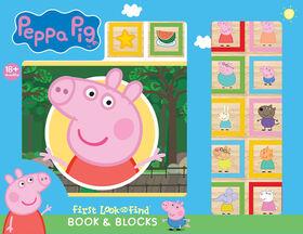 Book and Blocks - Peppa Pig - English Edition