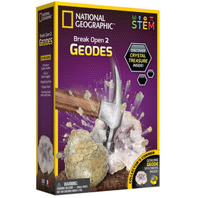 National Geographic Break Open 2 Geodes