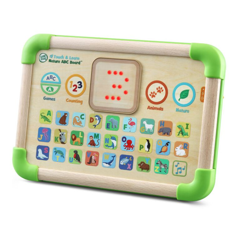 LeapFrog Touch and Learn Nature ABC Board - English Edition