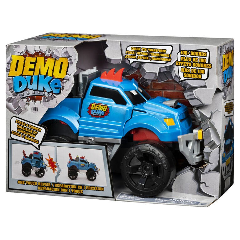 Demo Duke, Crashing and Transforming Vehicle with Over 100 Sounds and Phrases