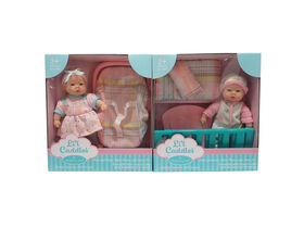 """8"""" Li'L Cuddles Baby Gift Set - Colours and styles may vary"""
