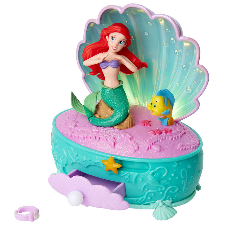 Disney Princess Ariel Pearl Jewelry Box