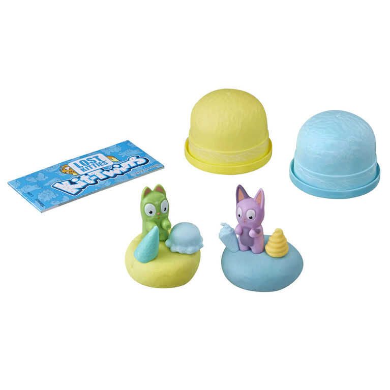 Jouets Lost Kitties Kit-Twins, 36 duos à collectionner.