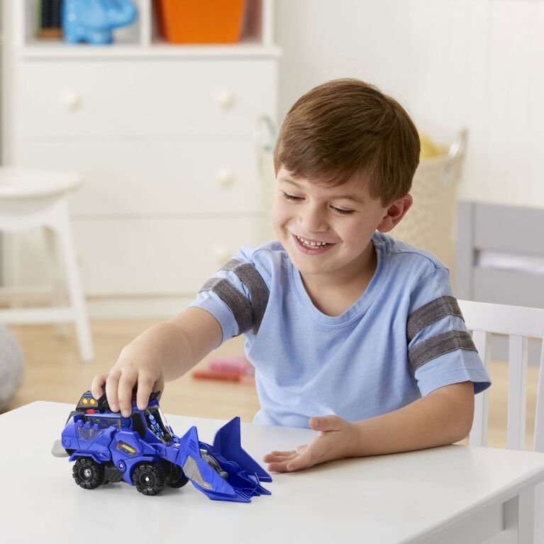 VTech Switch & Go Triceratops Bulldozer - Édition anglaise