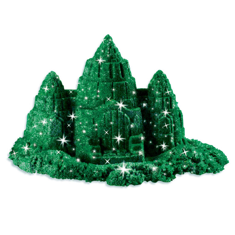 Kinetic Sand 1lb Shimmering Emerald Green