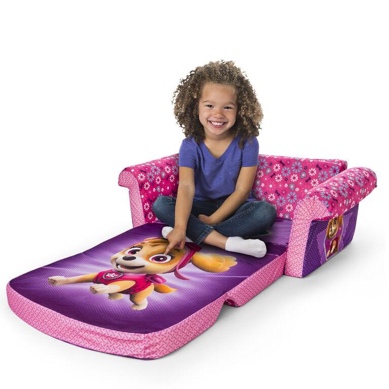 Marshmallow Furniture Children's 2-in-1 Flip Open Foam Sofa - PAW Patrol