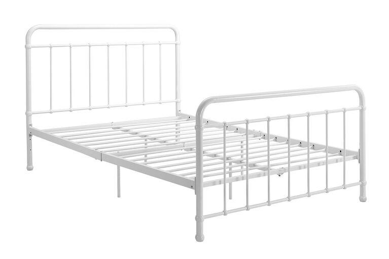 DHP - Brookyln Full Bed, White