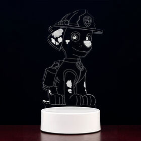 PAW Patrol 3D LED Night Light Marshall