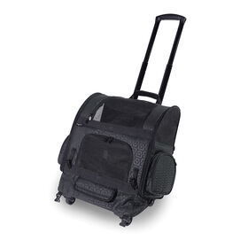 Gen7Pets RC2000 Roller-Carrier Pet Carrier - Black Geometric