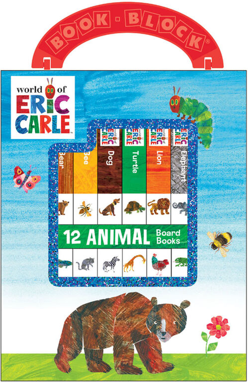 My First Library Eric Carle Animals - English Edition