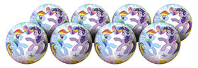 8 Pack Playball with Pump 10 inch My Little Pony