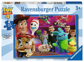 Ravensburger - Toy Story 4 - Made to Play Puzzle 35pc
