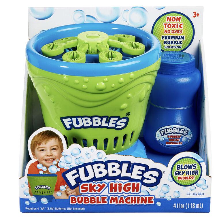 Machine à bulles Fubbles Sky High - Un par achat - Les couleurs peuvent varier