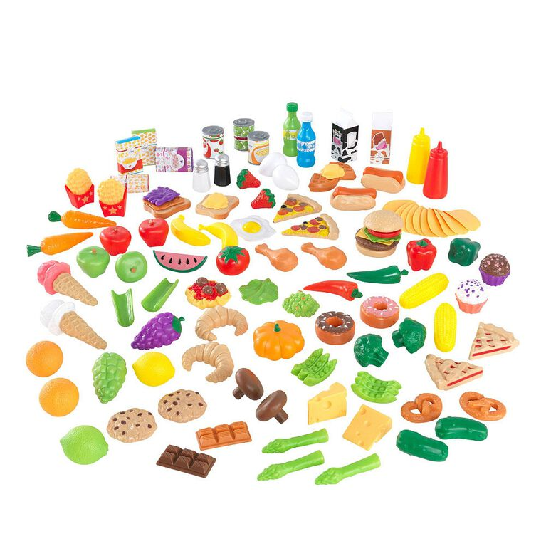KidKraft - Deluxe Tasty Treats Pretend Play Food