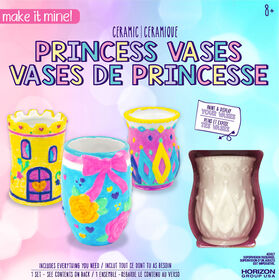 Make It Mine Ceramic Princess Vases