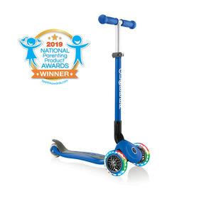 Primo Pliable Scooter avec Lumière - Bleu