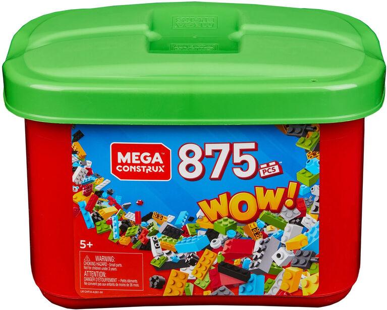 Mega Construx 875-Piece Tub