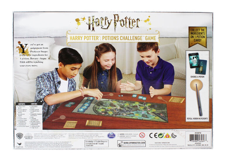 Harry Potter Potions Challenge Board Game - English Edition