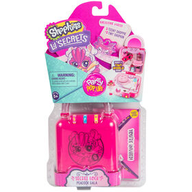 Shopkins Lil' Secrets - Médaillon secret - Gala du paon.