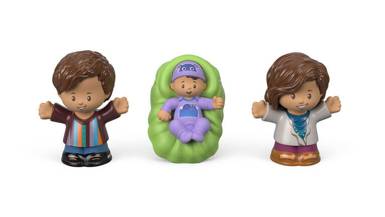 Fisher-Price - Little People Big Helpers Family - Green