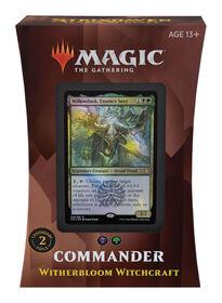 """Deck Commander – Sorcellerie de Flestrefleur """"Strixhaven: l'Académie des Mages"""" de Magic Le Rassemblement - Édition anglaise"""