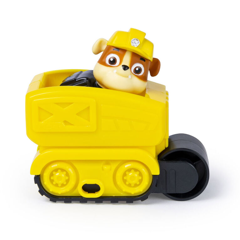 PAW Patrol, Ultimate Rescue Construction Truck with Lights, Sound and Mini Vehicle