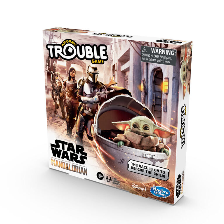 Trouble: Star Wars The Mandalorian Edition Board Game - English Edition
