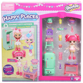 Shopkins Happy Places S3 Welcome Pack  - GOURMET KITTY KITCHEN
