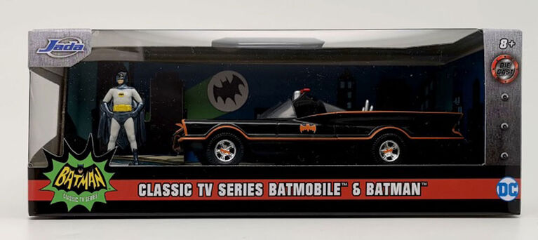 Batmobile 1:32 With Figure
