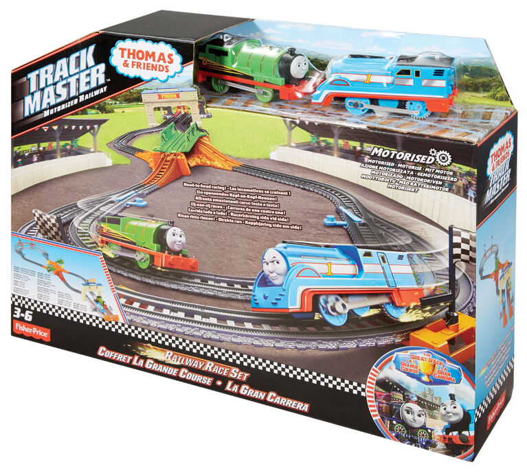 Fisher-Price Thomas & Friends TrackMaster Thomas & Percy's Railway ...
