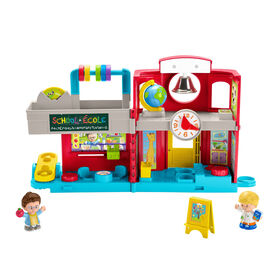 Fisher-Price - Little People - École amusante - Édition bilingue