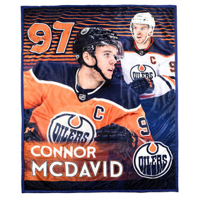 NHLPA Ultimate Fan Throw- Connor McDavid