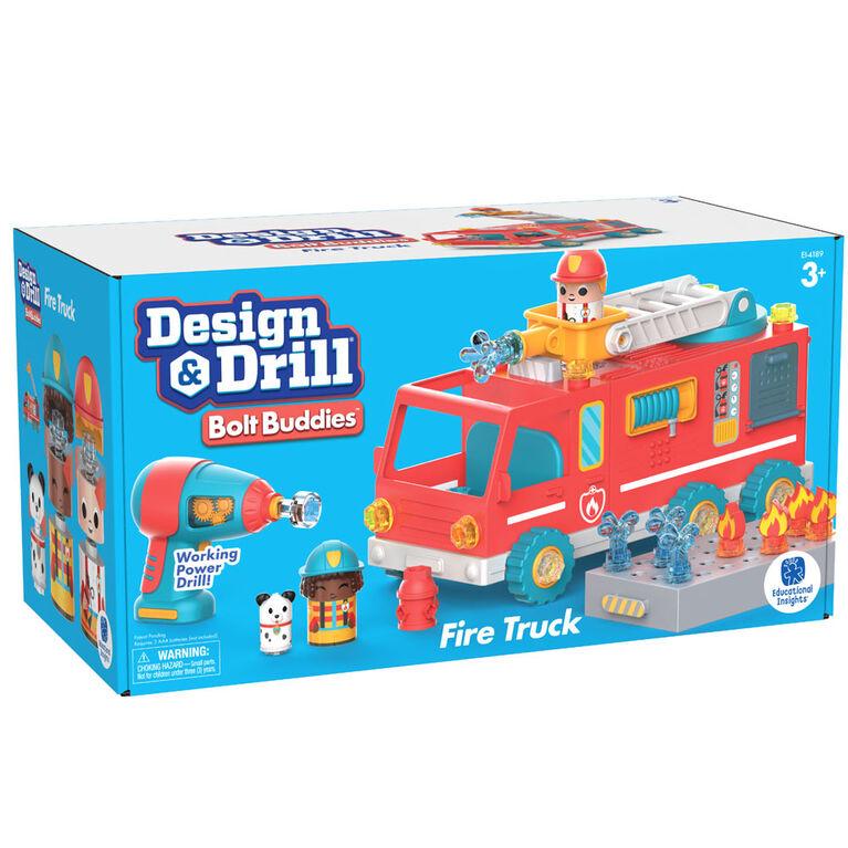 Design & Drill Bolt Buddies Fire Truck - English Edition