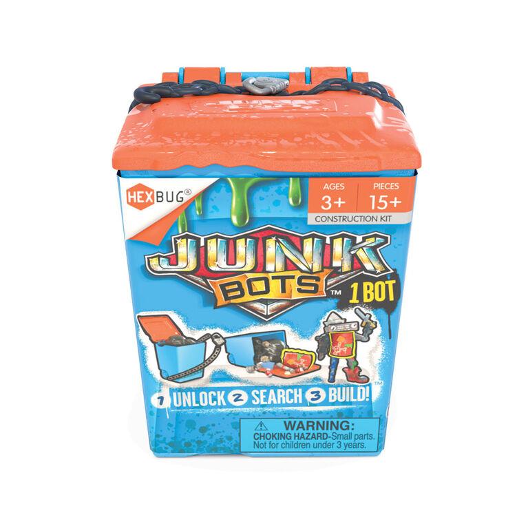 Hexbug Junkbots - poubelle - Les couleurs et les motifs peuvent varier