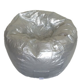 Boscoman - Large Vinyl w/Pocket Bean Bag - Silver