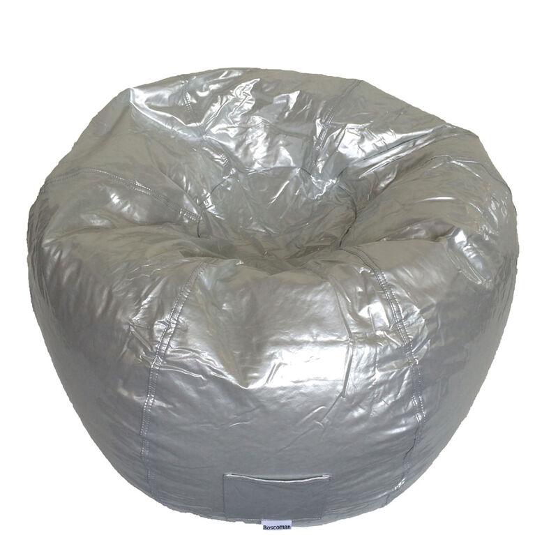 Boscoman - Large Vinyl w/Pocket Bean Bag - Silver