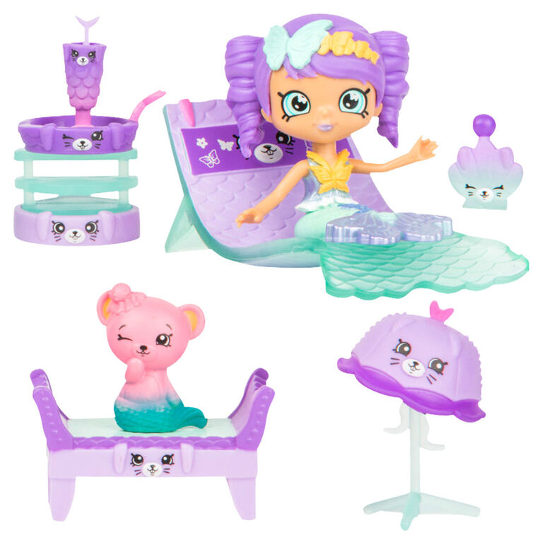 Shopkins Happy Places Mermaid Tales - Hot Springs Day Spa Surprise Me Pack