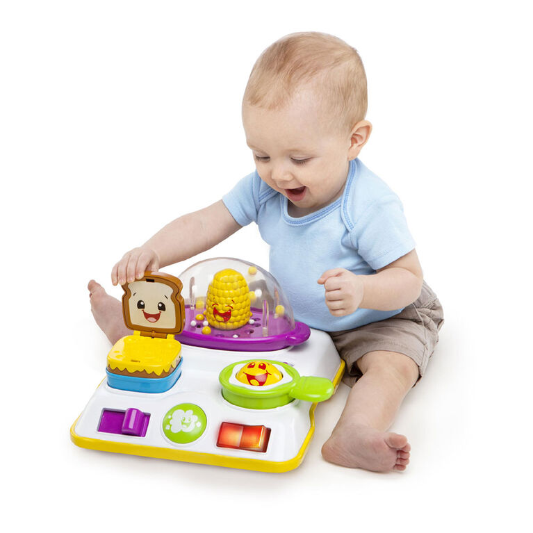Bright Starts - Trotteur Giggling Gourmet  4-in-1 Shop 'n Cook