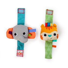 Rattle Me Wrist Pals Rattle Toy