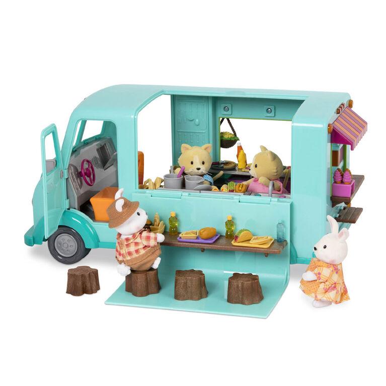 Li'l Woodzeez, Honeysuckle Sweets & Treats Food Truck with Accessories