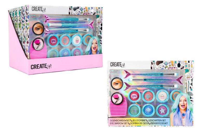 CREATE IT! Eye Shadow Set Mermaid 11-Pieces Display