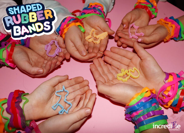 Bracelets élastiques en forme de faune