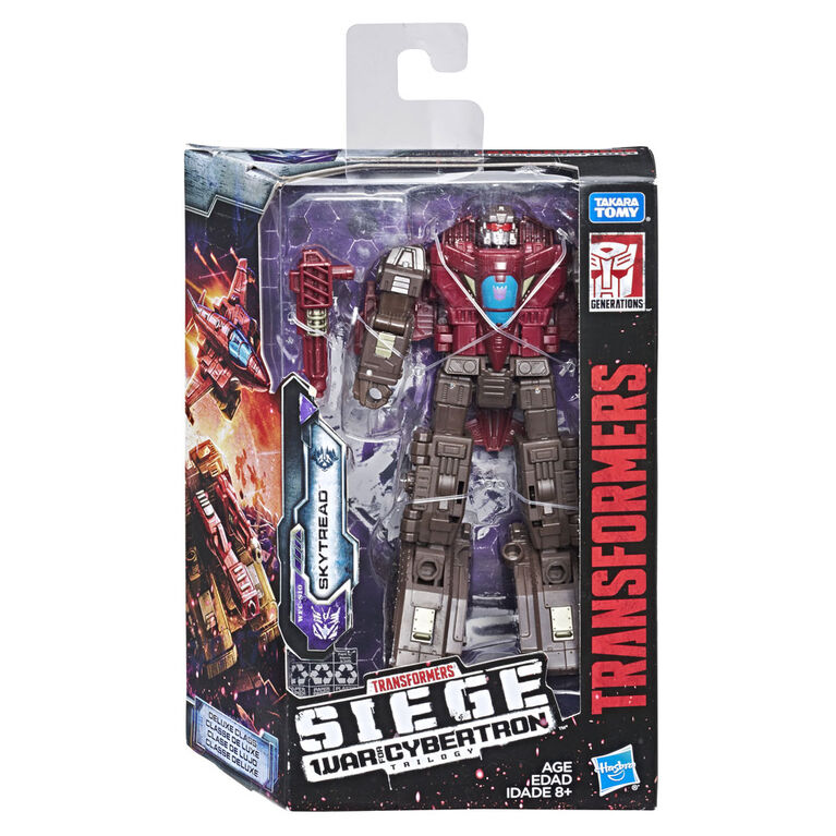 Transformers Generations War for Cybertron: Siege Deluxe Class Skytread Action Figure