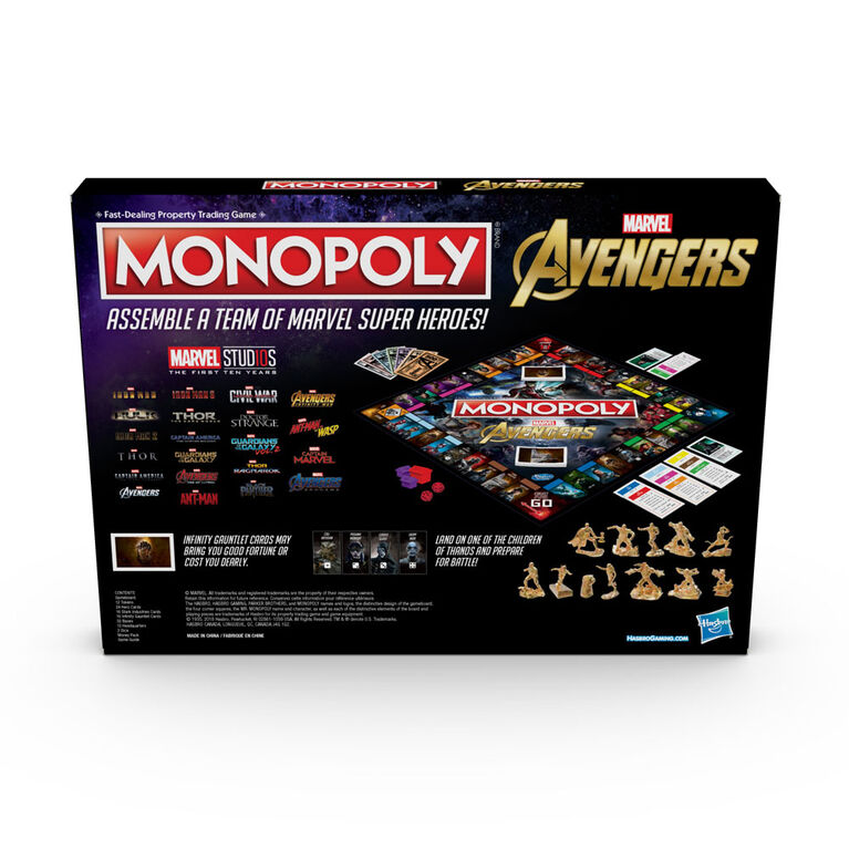 Monopoly: Marvel Avengers Edition