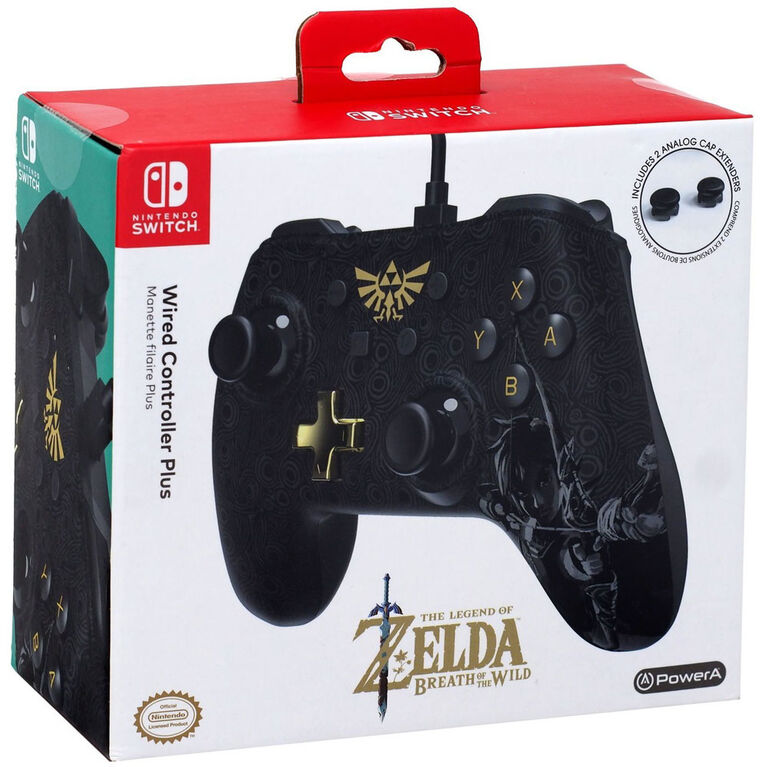 Nintendo Switch Wired Controller Zelda BOTW