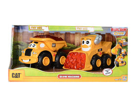 Caterpillar Preschool - Glow Machines 2 Pack - Dump Truck & Skid Steer