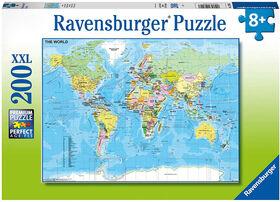 Ravensburger - te du Monde casse-têtes 200pc