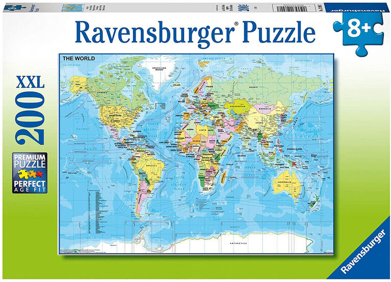 Ravensburger - The World Puzzle 200pc